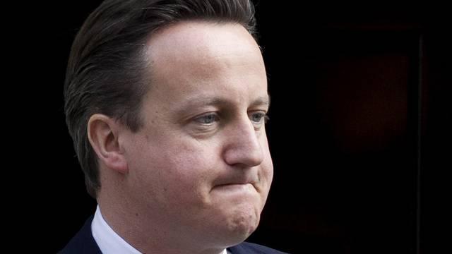 Empfieng einflussreiche Spender in seiner Dienstwohnung: David Cameron