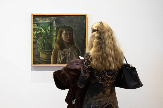 Mit 20 malte Lee Krasner sich selber wie eine Malerin aus dem 19. Jahrhundert.