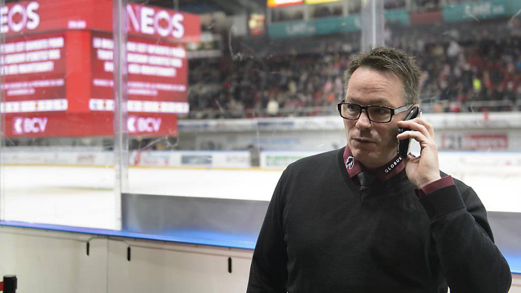 Genfs vernetzter Mitbesitzer und Trainer: Chris McSorley - bestimmt er die Zukunft der Flyers indirekt mit?
