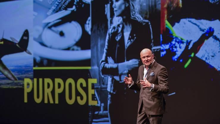 Baselworld 2019 - Breitling Summit in den Dreispitzhallen in Münchenstein Im Bild: Breitling CEO Georges Kern