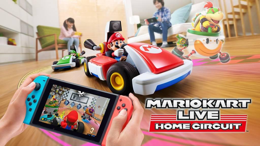 Mario Kart Live: Jetzt geht's ins Wohnzimmer