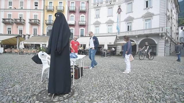 Umstrittenes Burkaverbot tritt im Tessin in Kraft
