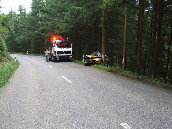 Unfall in Wittinsburg