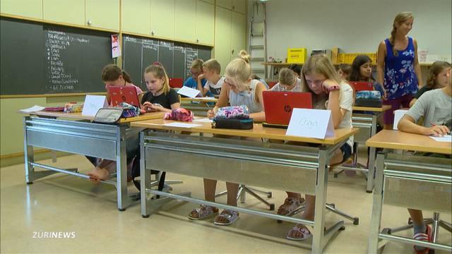 Zürcher Volksschulen starten mit Lehrplan 21