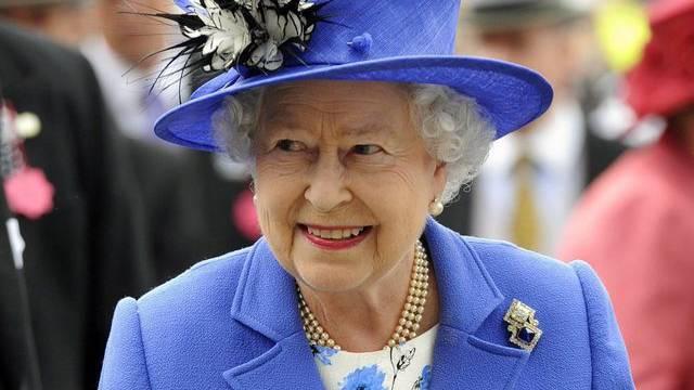 Queen Elizabeth II. im südenglischen Epsom