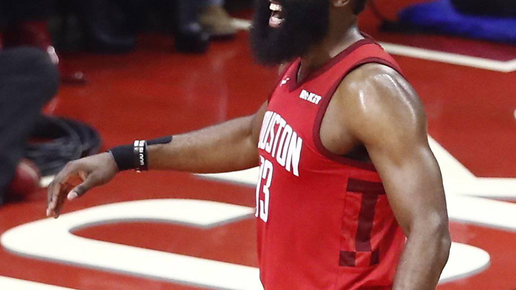 James Harden führt Houston Rockets zum Sieg