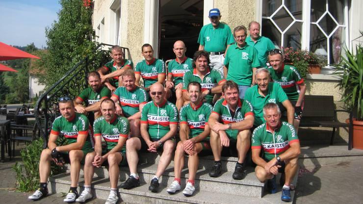 Die VCK-Fahrer der internen Schwarzwald-Rundfahrt.