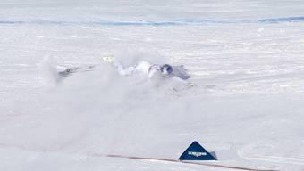 Wieder verletzt: Lindsey Vonn brach sich im Training den Arm. (Archivbild)