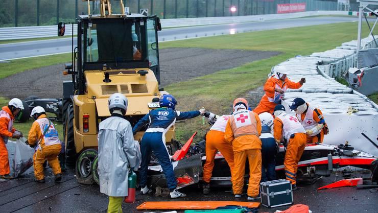 Jules Bianchi verunfallt schwer