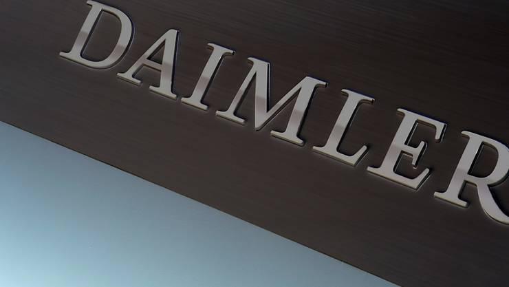 Daimler-Gewinn bricht durch Corona-Krise ein. (Archiv)