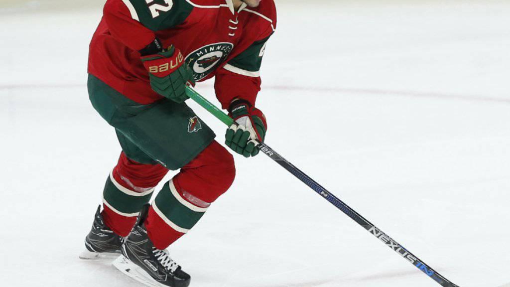 Nino Niederreiter kehrt mit den Minnesota Wild auf die Erfolgsspur zurück