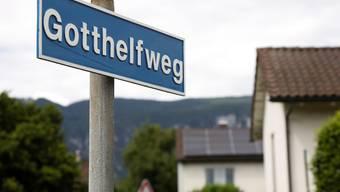 In der Weststadt finden sich sowohl Dichter wie Gotthelf ...