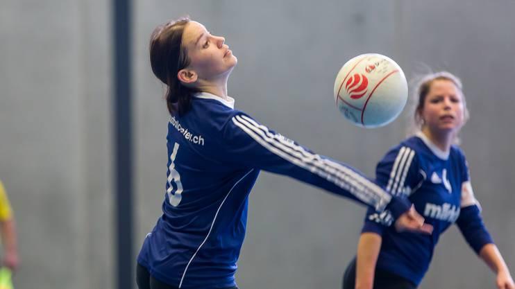 Die Frauen des STV Oberentfelden-Amsteg - im Bild Captain Sabrina Siegenthaler - nehmen am Finalevent den Final ins Visier.