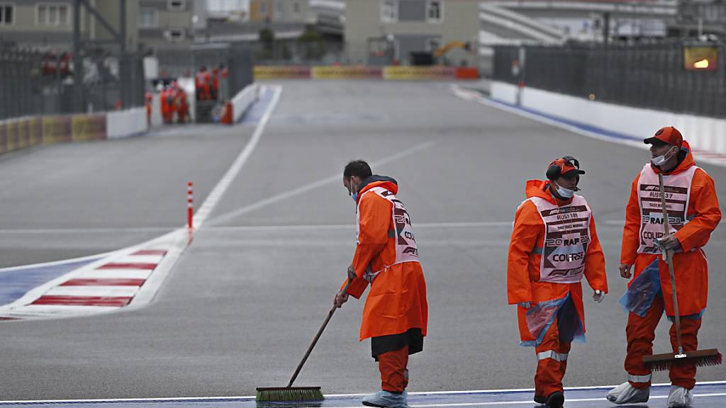 Norris und Sainz in der Frontreihe - Hamilton Vierter