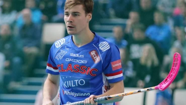 Wiler-Ersigen verstärkt sich mit dem Finnen Miro Lehtinen.