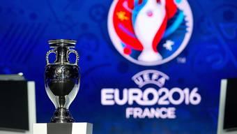 Die EM 2016 in Frankreich stösst bei den Fussballfans auf grosses Interesse