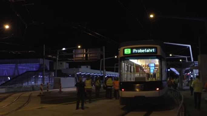 Tramverbindung Hardbrücke: Startschuss zu den Testfahrten