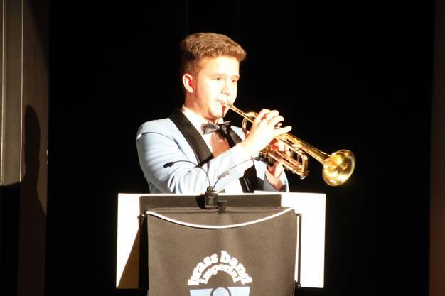 Ramon Sergio Binder spielt Virtuosity auf der Trompete