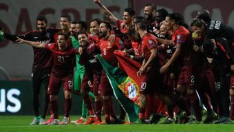 Portugal jubelt nach Sieg gegen Dänemark