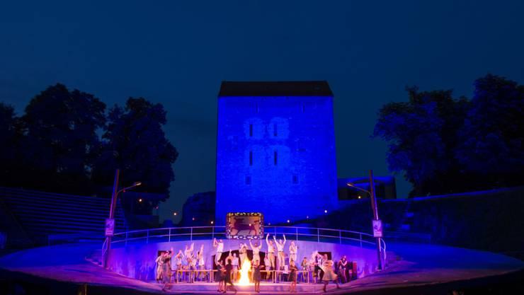 24 Ausgaben des Festivals Avenches Opéra sind bislang über die Bühne gegangen. Nach einem Defizit von 200'000 Franken steht die Veranstaltung jetzt vor dem Aus. (Archivbild)