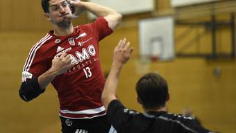 Ljubomir Josic und der HSC Suhr Aarau müssen sich mit einem Punkt begnügen.