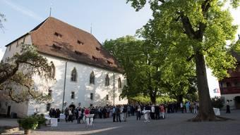 Das Ritterhaus auf Schloss Lenzburg ist für Veranstaltungen sehr beliebt. Im Sommer 2018 war es jedoch geschlossen. (Archiv)