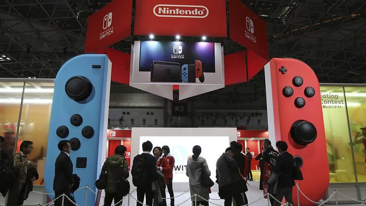 Switch verhilft Nintendo zum Gewinnsprung. (Archiv).