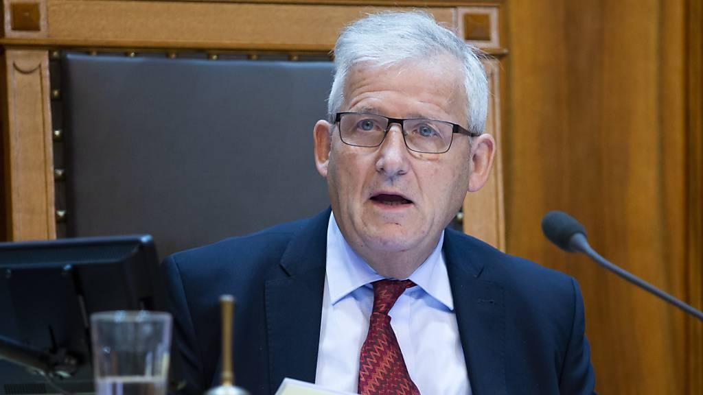 Ständeratspräsident zum Notrecht und den Abläufen in Krisenzeiten