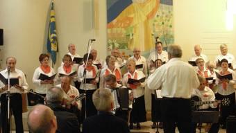 Der Coro Italiano am Frühlingsfest 2014