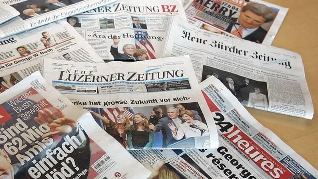 Schweizer Zeitungen werden teurer, meint Tamedia-Chef Martin Kall (Symbolbild)