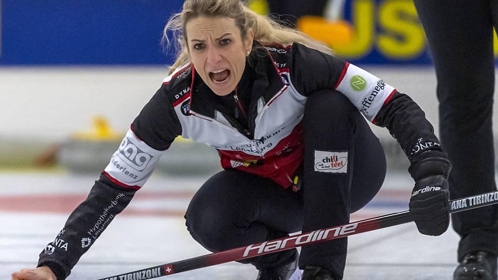 Silvana Tirinzoni musste sich den Meistertitel in den Finalspielen hart erkämpfen