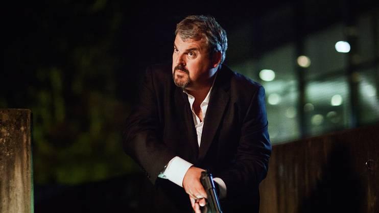 Mike Müller ist als Luc Conrad in der SRF-Serie «Der Bestatter» oft in Aarau unterwegs.