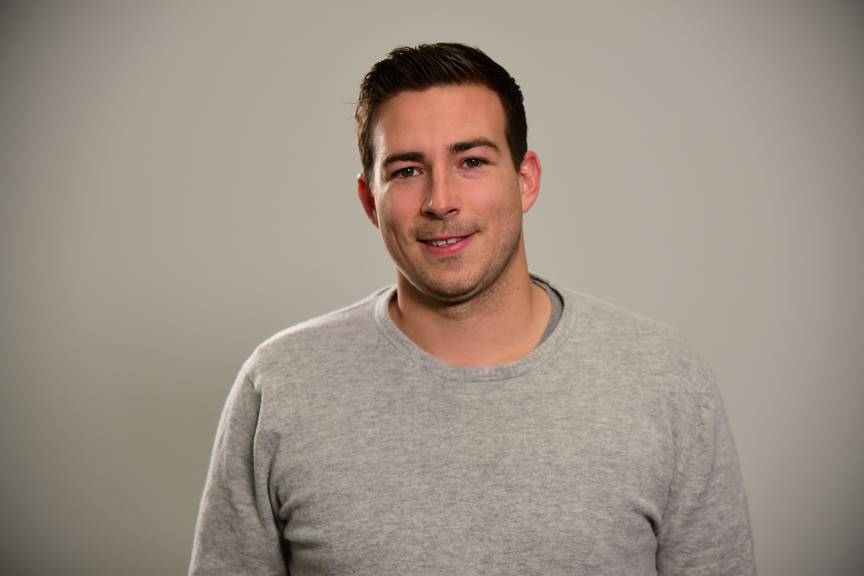 Sportjournalist und TVO-Moderator Dominic Ledergerber.