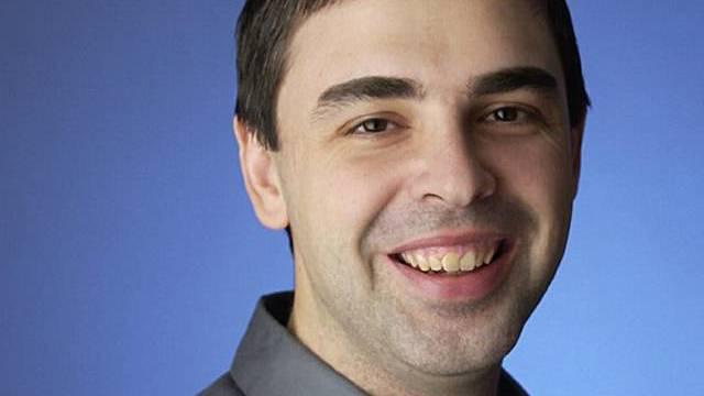Larry Page freut sich auf sein Kind
