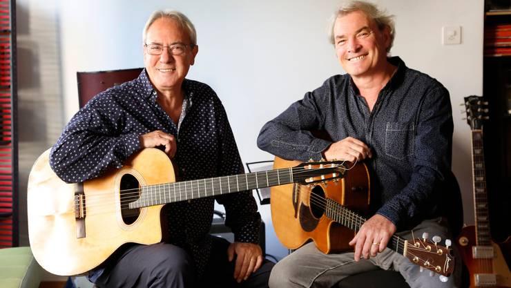 Tonic Strings: Virtuose Akustikmusik mit den Gitarristen Toni Donadio und Nic Niedermann. Foto Christine Zenz