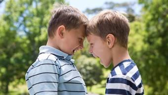 Die Schulsozialarbeit befasst sich auch mit Konflikten unter Schülern.