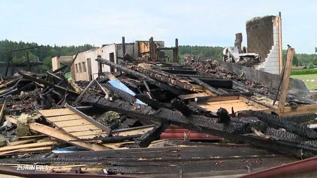 Schützenhaus in Fehraltorf abgebrannt