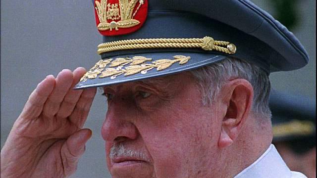 Chiles Diktator Pinochet (Archiv)
