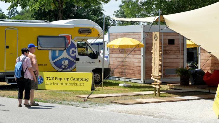 Camping soll zum Event werden.