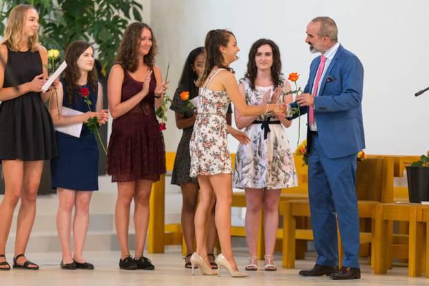 Abschlussfeier der Kantonsschule Wettingen in der Kirche St. Anton. (29. Juni 2018)