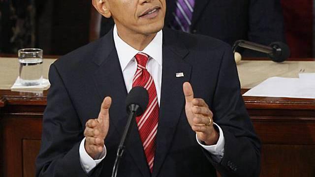 US-Präsident Obama während seiner Rede