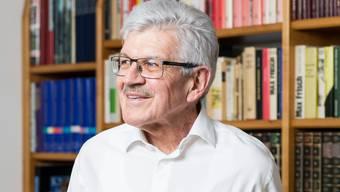 Alt-Regierungsrat Roland Brogli, porträtiert in seinem Haus in Zeiningen am 9. Mai 2017.