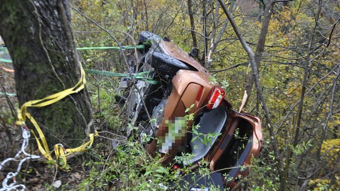 Unfall zwischen Hauenstein und Trimbach (26.10.2020)