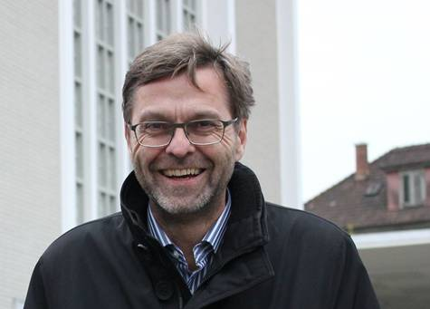 Andreas Brun Diakon und Mitinitiator der IG Schlafpavillon: «Wir sind froh um jeden Hinweis auf einen möglichen Standort für den Schlafpavillon.»