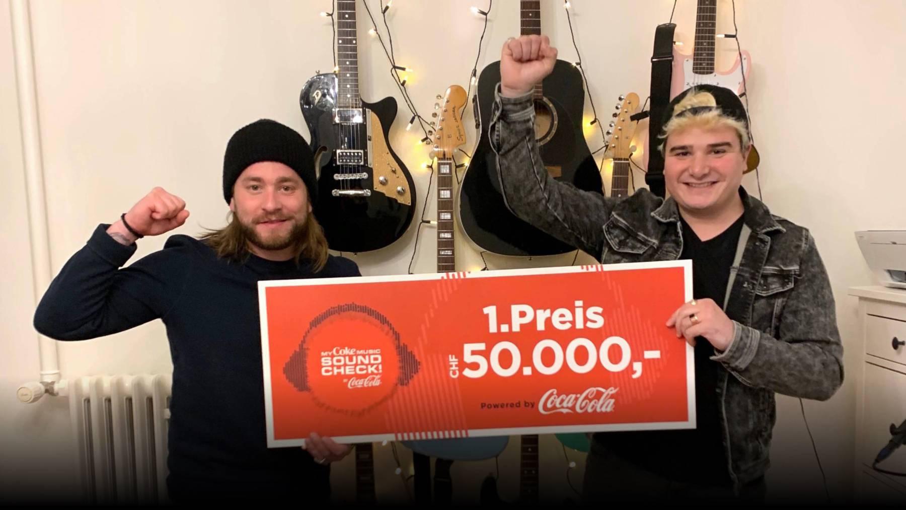 MyCokeMusic Soundcheck 2021-Gewinner Aaron