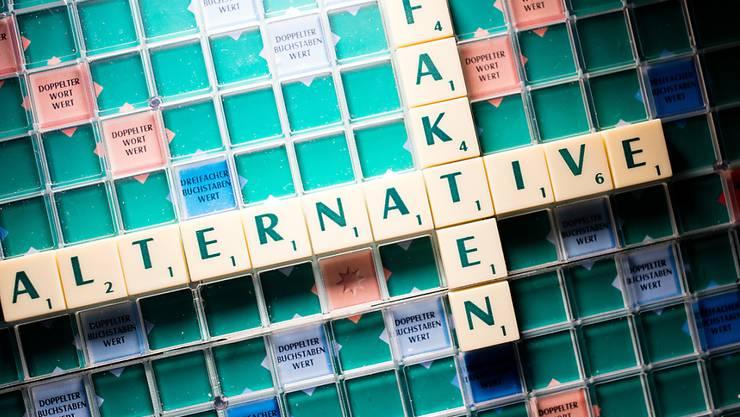 """Falsche Behauptungen werden salonfähig gemacht: Mit dieser Begründung wählte eine Jury deutscher Sprachwissenschafter den Ausdruck """"alternative Fakten"""" zum """"Unwort des Jahres"""". (Symbolbild)"""
