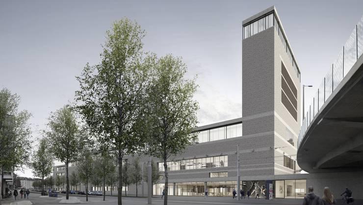 So soll der Neubau des Naturhistorischen Museums aussehen.