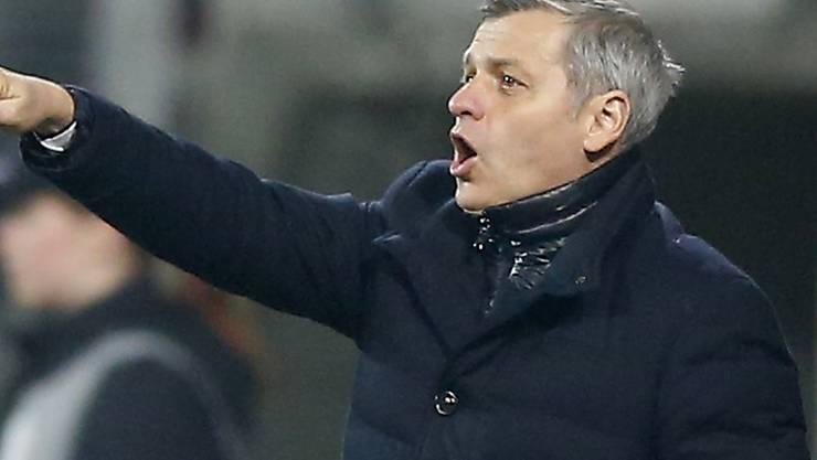 Spricht Klartext: Lyon-Coach Bruno Génésio (Archiv)