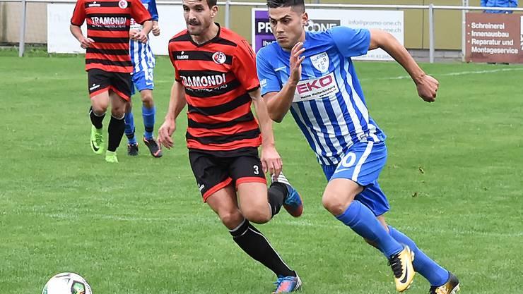 Der FC Olten kann sich gegen Einsiedeln durchsetzen und holt sich den Sieg.