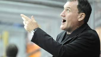 Matchuhr defekt: Biel-Trainer Kent Ruhnke macht seinem Unmut Luft